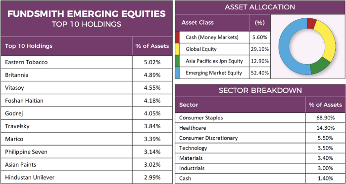 Fundsmith Emerging Equities Factsheet